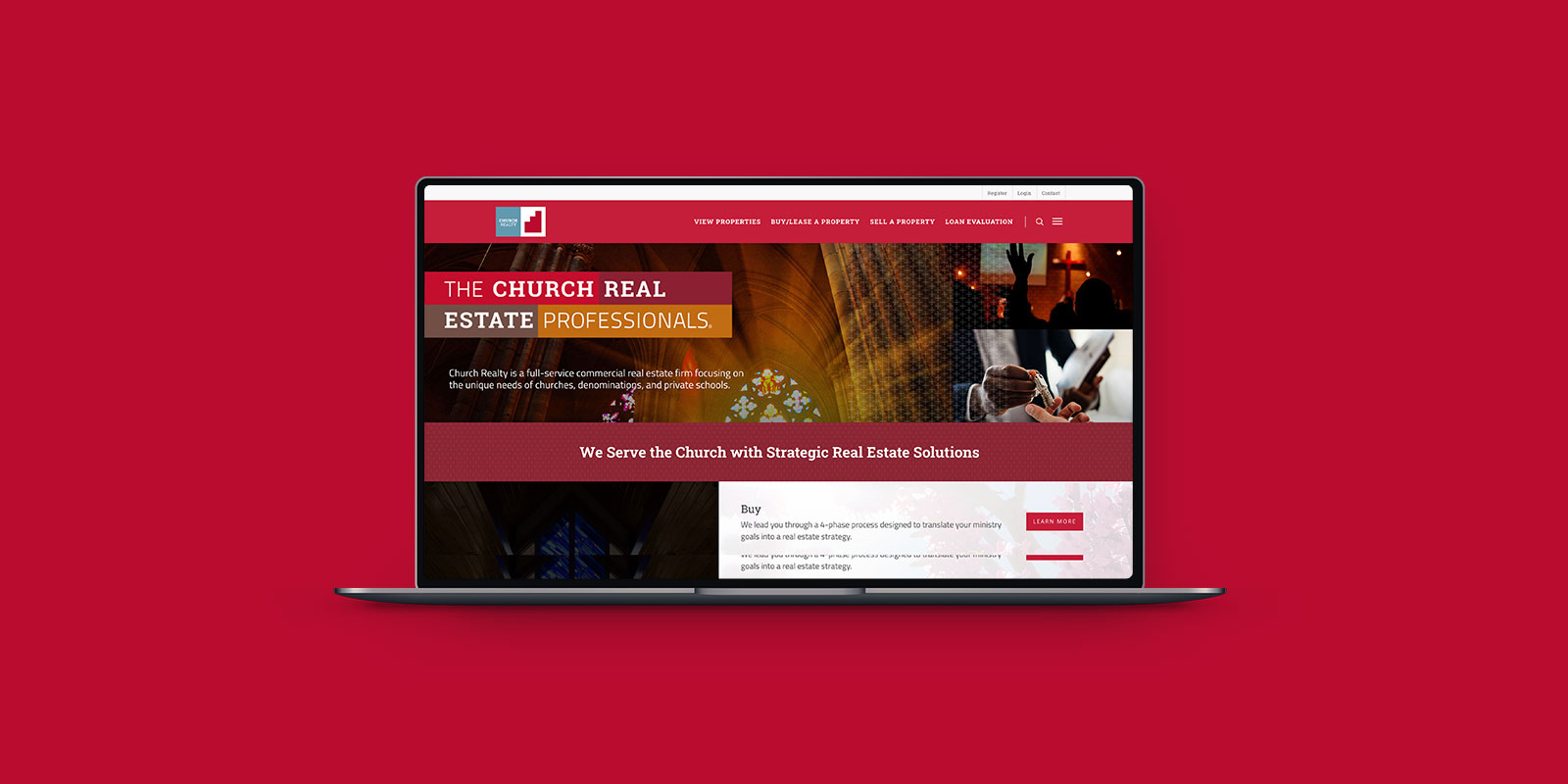 Church Realty Web Design Project